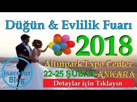 Ankara Evlilik Hazırlıkları Fuarı 2018 VLOG (3.Bölüm)