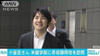 小室圭さん 秋篠宮家のある赤坂御用地を訪問(18/08/05) 小室圭 検索動画 24