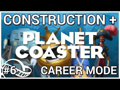 Log Flume Fabrication = Construction + Planet Coaster [Career Mode] #6