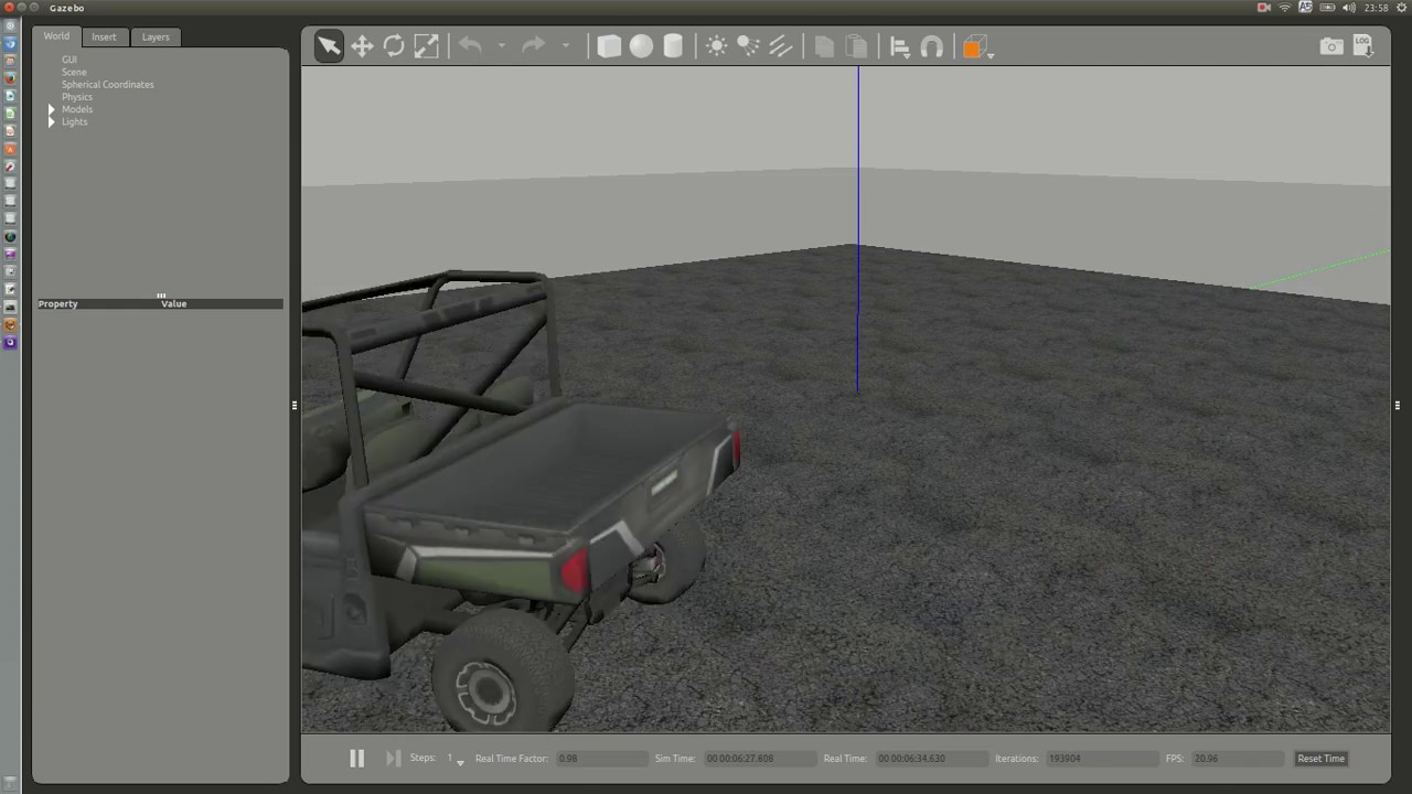 Rover Simulation for SITL and Gazebo