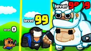 Evolving in MAX LEVEL CAT ARMY in Cats Clash