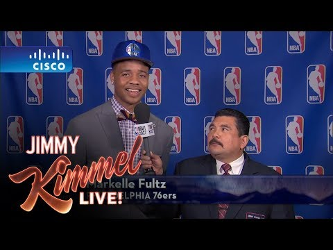 Thumbnail: Jimmy Kimmel Talks to Philadelphia 76ers #1 NBA Draft Pick Markelle Fultz