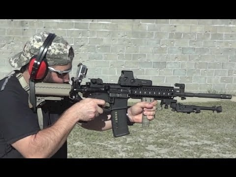 Gopro Hero 3 Mounted On Colt Le6940 Ar15 M4 Carbine Youtube