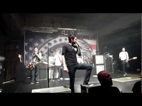 A Day To Remember - My Life For Hire Live at Werk 2 Leipzig 28.10.11 + Lyrics [HD & HQ]