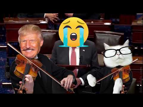 Chucky Schumer cries after losing their power grab vote S.1...???