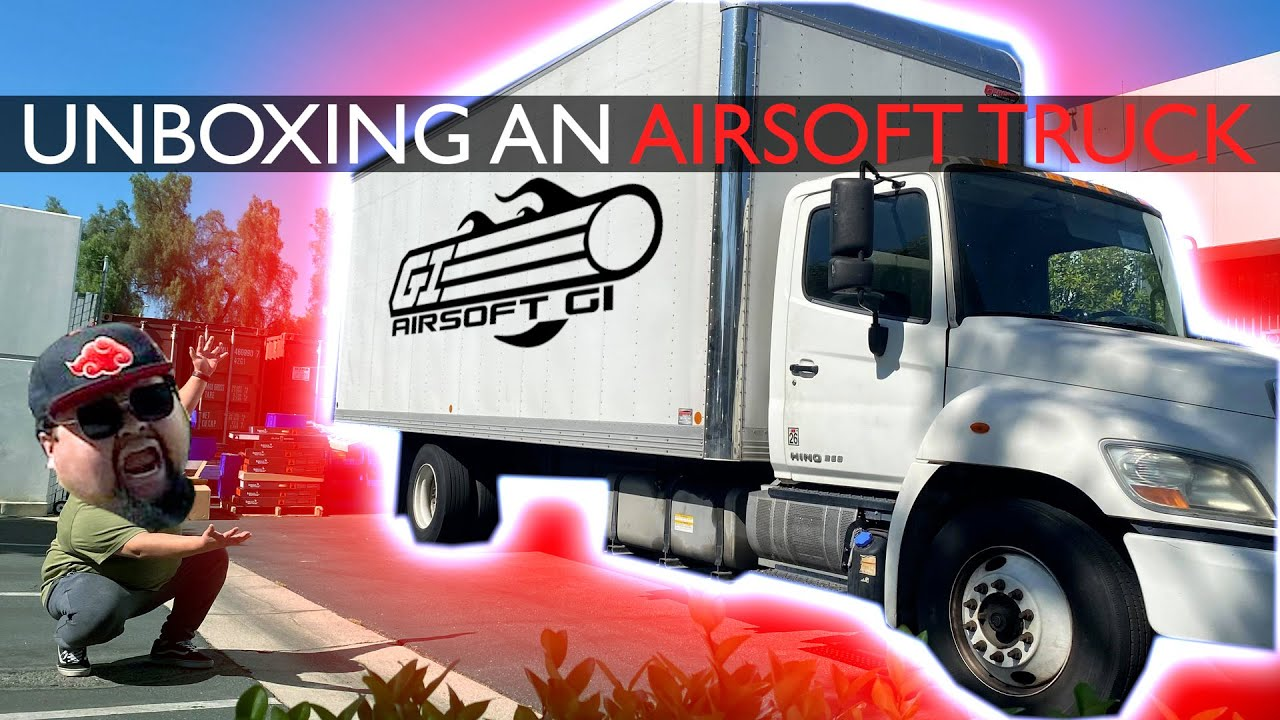 $100,000 AIRSOFT UNBOXING?!   Airsoft GI