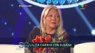 Susana entrevista a Lilita Carrió - Susana Giménez