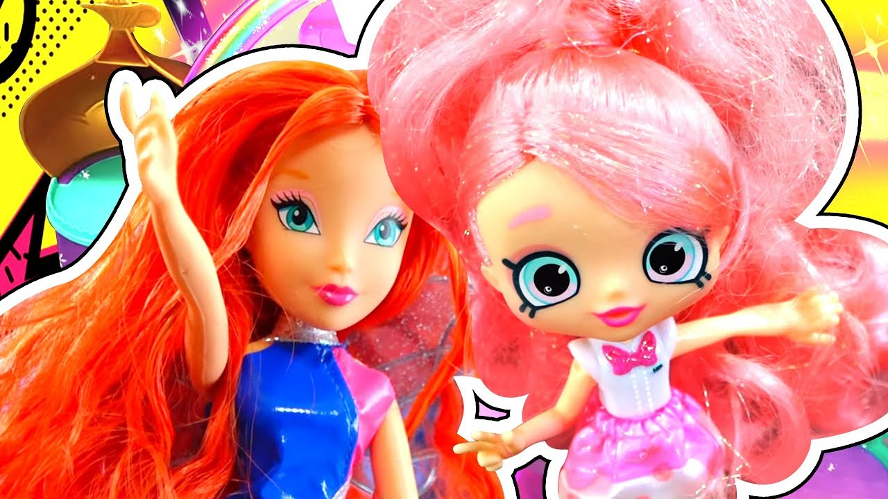 Амелькины Игрушки! Новая Кукла Винкс, Барби Стоматолог и ...