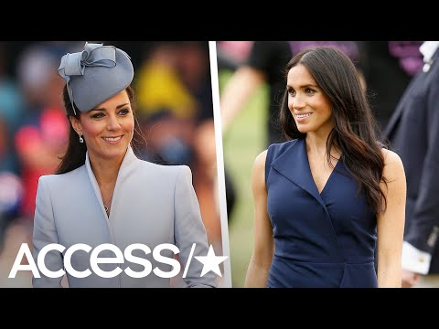 Meghan Markle & Kate Middleton's Australian Royal Tour Looks, Compared!