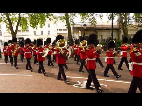 Scots Guards andBand of the Scots Guards and 1st Battalion Scots Guards Pipes and Drums