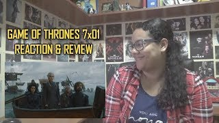"Game of Thrones 7x01 REACTION & REVIEW ""Dragonstone"" S07E01 