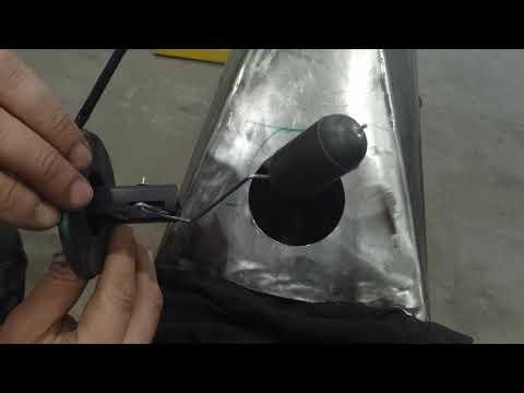Установка датчика топлива на мотоцикл