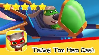 Talking Tom Hero Dash Run Game Day72 Walkthrough Save the world Recommend index five stars