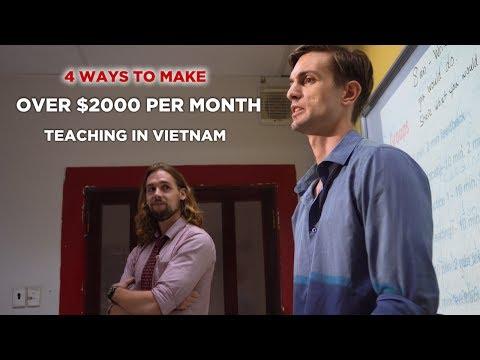 4 Ways To Make Over $2000 Per Month Teaching English In Vietnam