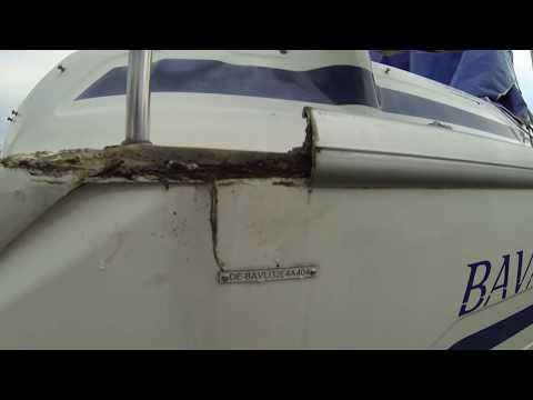 Leak At Hawsehole 1/6 - The Leak In Starboard Side