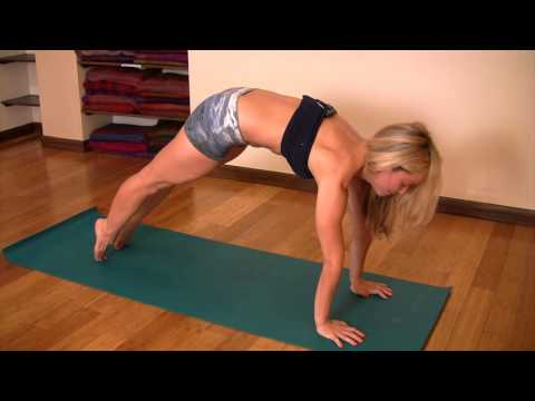 Strength Building Yoga: High Plank to Low Plank to Chaturanga Dandasana with Kino