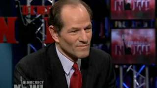 "Eliot Spitzer: Geithner, Bernanke ""Complicit"" in Financial Crisis and Should Go 1 of 3"