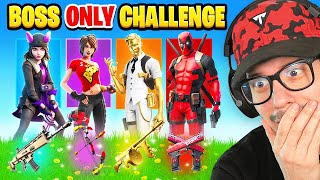 The *RANDOM* BOSS Challenge in Fortnite! (IMPOSSIBLE)