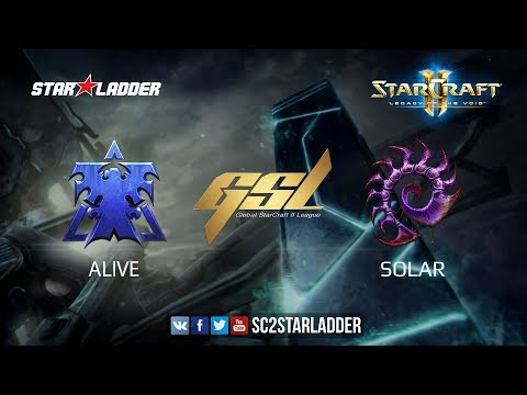 2017 GSL S3 Ro16 Group A Match 2: aLive (T) vs Solar (Z)