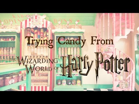 Trying Candy From The Wizarding WorldHaul  Haley Marie