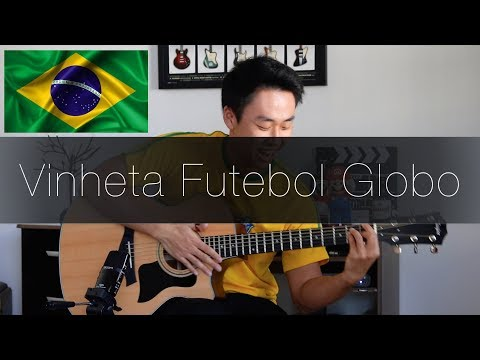 Música Futebol da Globo Brazilian Football Song - Rodrigo Yukio ViolãoFingerstyle Guitar Cover