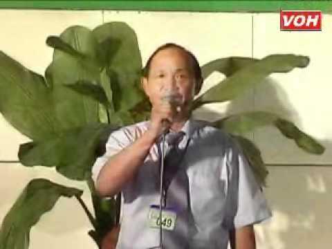 Thí sinh  Lê Văn Lập SBD  049 Phụng hoàng 8 câu   Nhớ cha trong mùa phượng đỏ Sáng tác  Dương Thị Thu Vân   31 03 2012