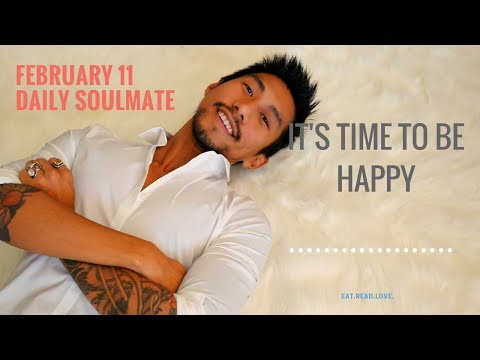 """WATER CANCER, PISCES, SCORPIO """"IT'S TIME TO BE HAPPY """" FEBRUARY 11 TAROT READING"""