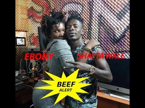 EBONY STARTS NEW BEEF WITH SHATTA WALE BY REMOVING SHATTA'S VERSE FRM ''SPONSOR'' MUSIC