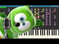 IMPOSSIBLE REMIX - The Gummy Bear Song - Piano Cover
