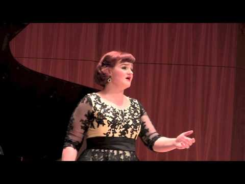 Keely Futterer, soprano  Christopher Reed, piano