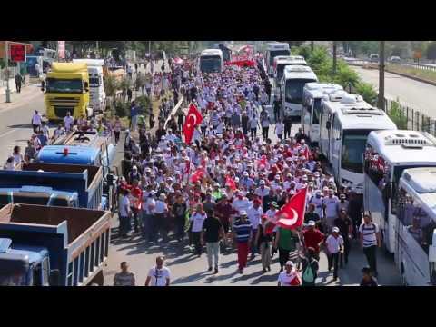Kılıçdaroğlu Adalet yürüyüşü için Gebze'de!