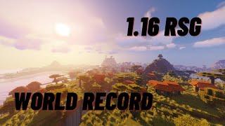 [14:56] 1.16 RSG Speedrun World Record??