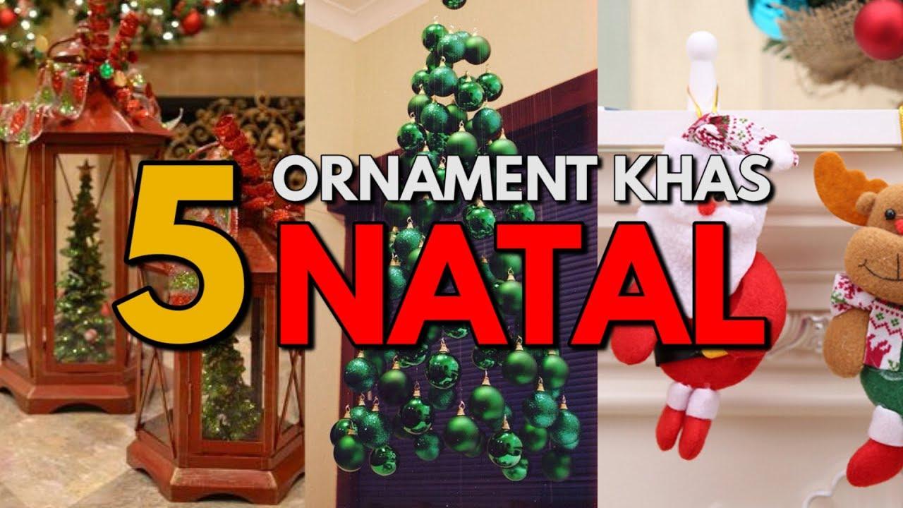 Dekorasi Khas Perayaan Natal Yang Bikin Rumahmu Semakin Indah