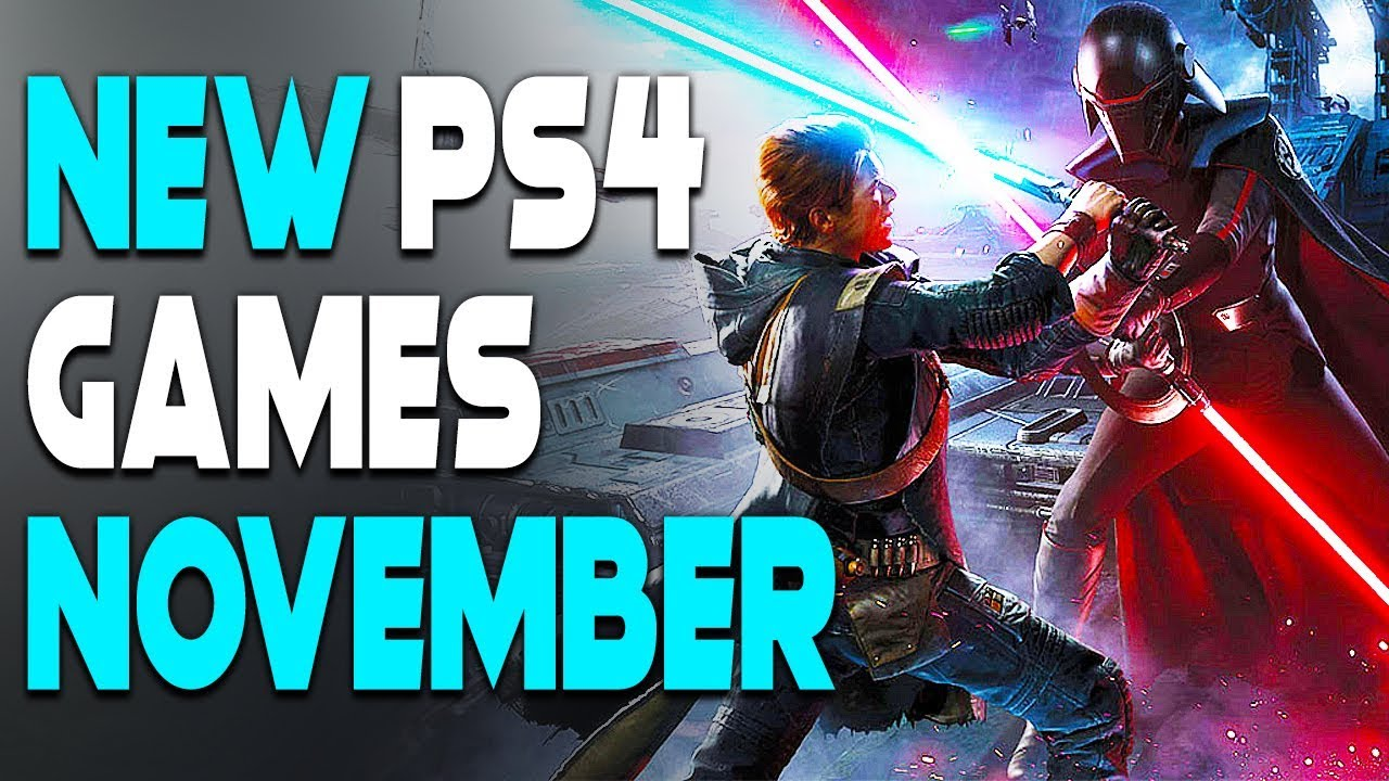 6 Insane New Ps4 Games Coming In November 2019 Upcoming