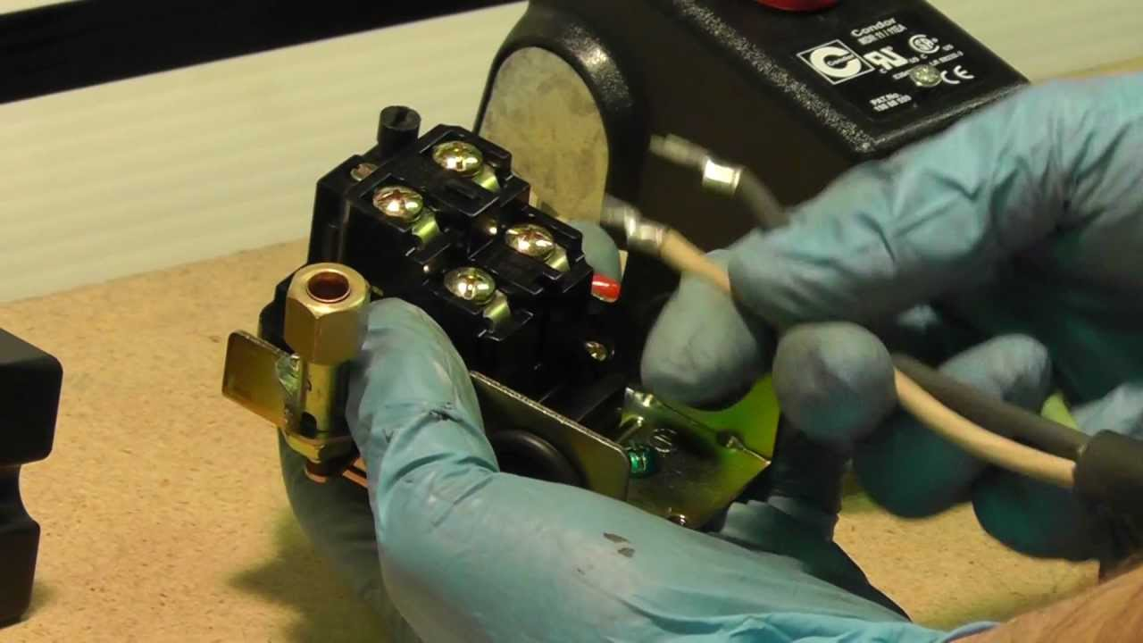 How To Wire A Pressure Switch  MASTERTOOLREPAIRCOM  YouTube