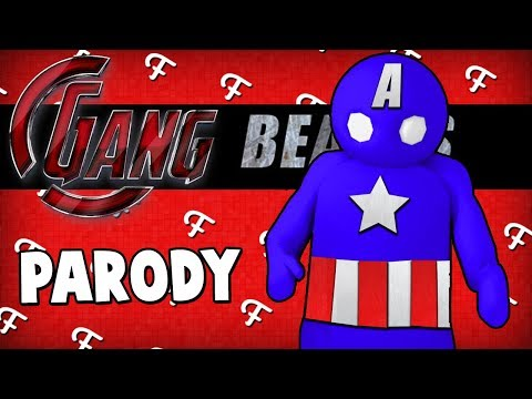 Gang Beasts: Avengers Infinity War Parody (Online - Comedy Gaming)