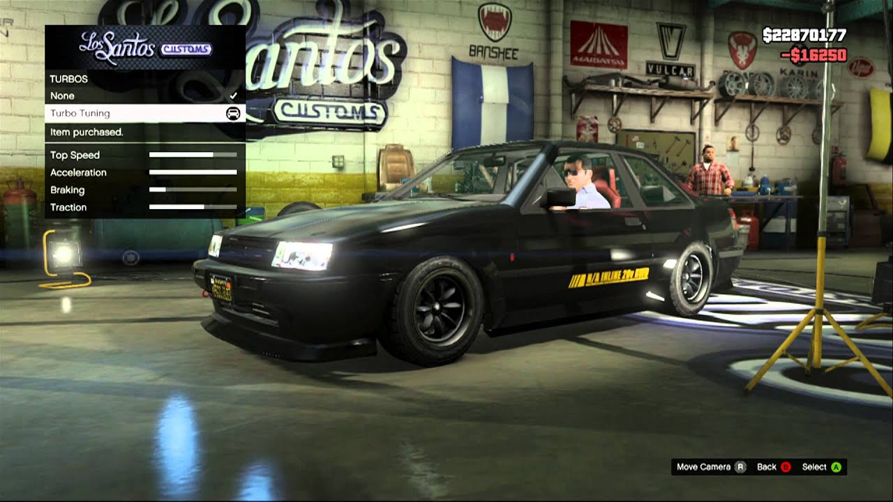 Gta V Best Drift Car Futo Youtube