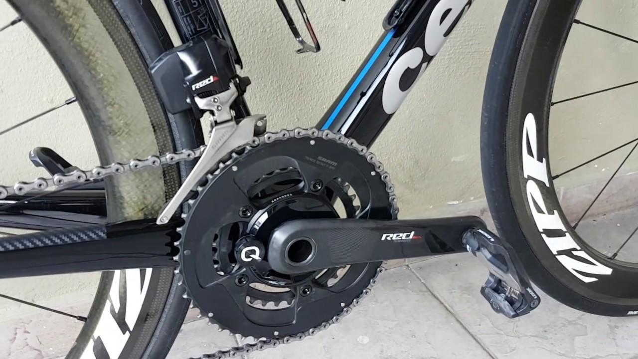 Sram Red DZero Quarq Bicycle Crankset