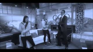 """Lester Holt"" (Lester & Kate Hansen dancing at Olympics version) by Transient Frank"