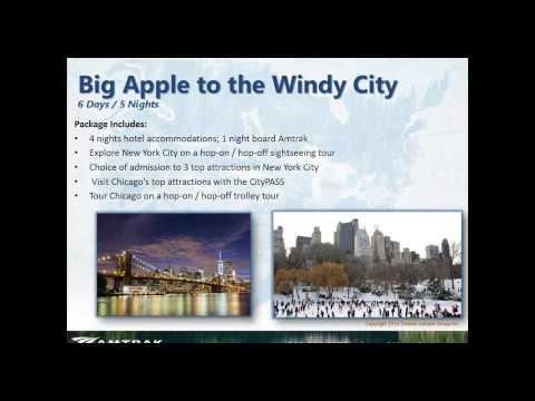 NEW YORK CITY & WASHINGTON, DC  TRAIN VACATIONS - Webinar