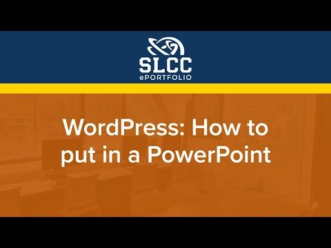 WordPress powerpoint