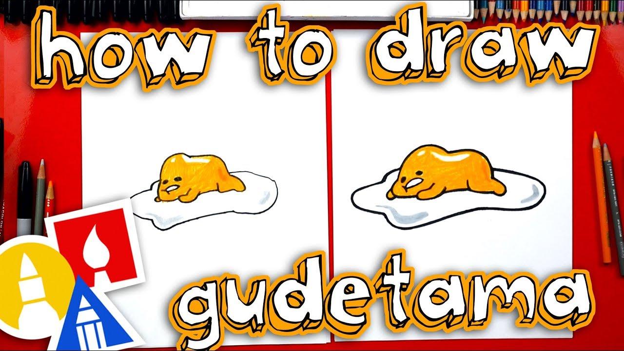 How To Draw Lazy Egg Gudetama