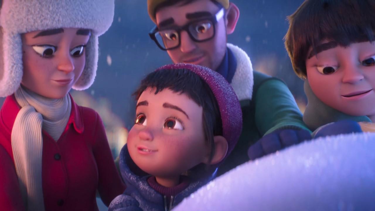 1 hour to maker the best Snowman ever! (¡1 hora para hacer el mejor muñeco de nieve de todos los tiempos!) Intenta que en tu vida siempre haya tiempo para los tuyos. Es la mejor inversión que puedes hacer.1er capítulo.The Time Shop | A Holiday (La tienda del tiempo | Vacaciones)(Activar los subtítulos y traducirlos)