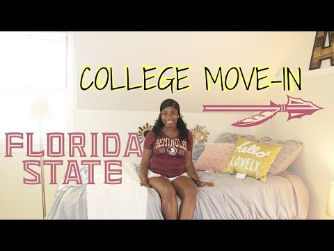COLLEGE MOVE-IN DAY | Florida State University