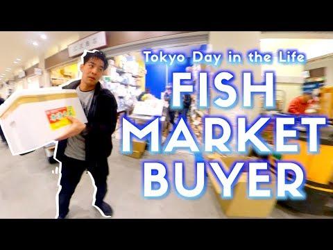Inside Toyosu Fish Market In Tokyo