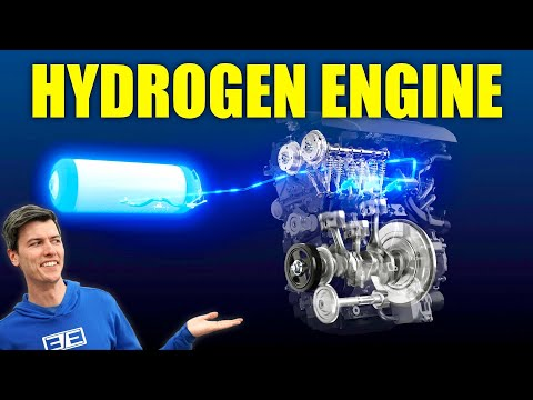 Toyota's Developing A Hydrogen Combustion Engine!