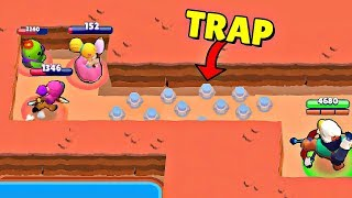 700 IQ TRAP vs 0 IQ I Brawl Stars Wins & Fails #39
