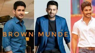 🧍Brown Munde South Indian Actors 4K Full Screen WhatsApp Status| 🧍BrownMunde × South Indian Actors