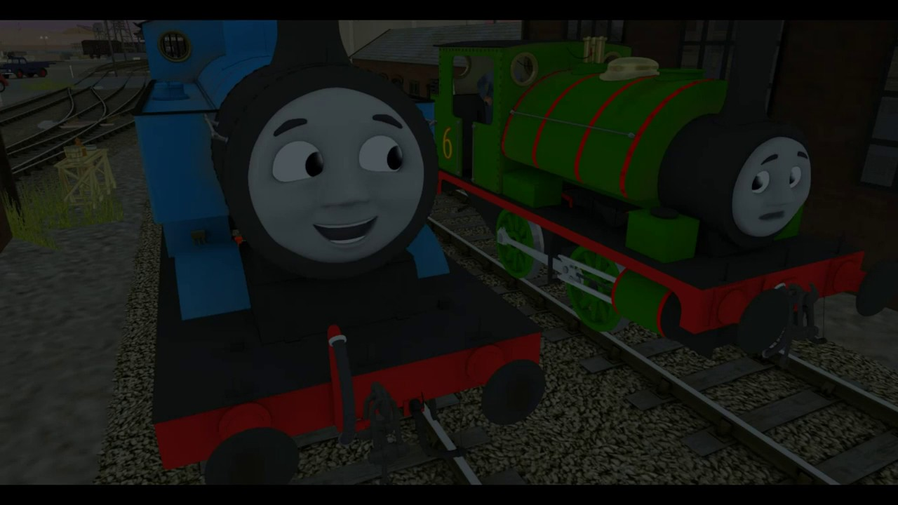 Its Halloween Thomas and Friends Trainz Remake by Shining Time Studios