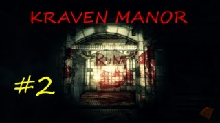 Kraven Manor gameplay walkthrough #2, STAY ALIVE IF YOU CAN!!!!!